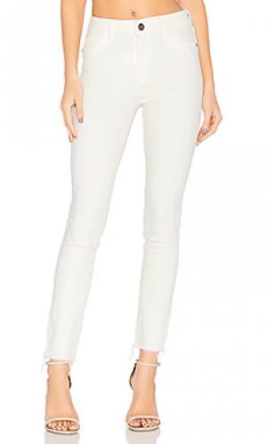 Скинни джинсы до лодыжек farrow DL1961. Цвет: none