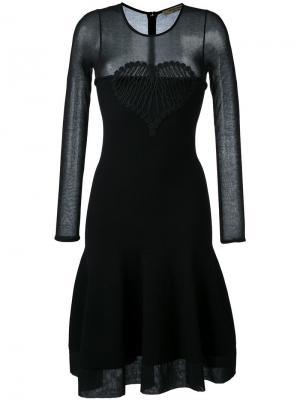Расклешенное платье Piccione.Piccione. Цвет: чёрный
