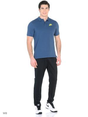 Футболка-поло M NSW POLO PQ MATCHP Nike. Цвет: серо-голубой