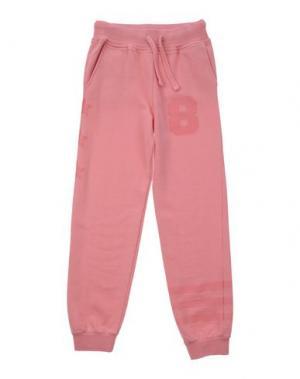 Повседневные брюки HYDROGEN. Цвет: розовый