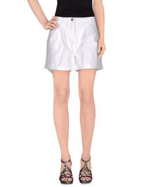 Повседневные шорты NICE THINGS BY PALOMA S.. Цвет: белый