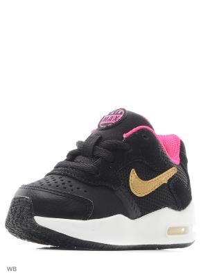 Кроссовки AIR MAX GUILE (TD) Nike. Цвет: черный, золотистый