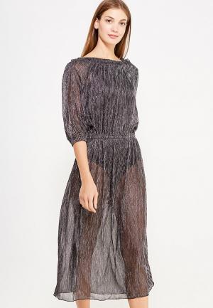 Платье Sweewe. Цвет: серебряный