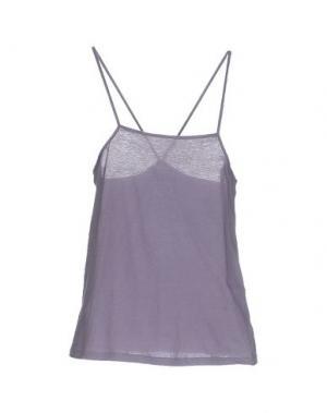 Топ без рукавов SITA MURT/. Цвет: фиолетовый