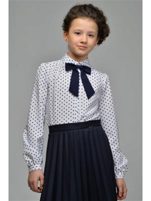 Блузки DESTY. Цвет: белый