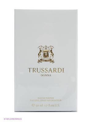 Парфюмерная вода жен TRUSSARDI DONNA NEW 50мл спрей. Цвет: белый