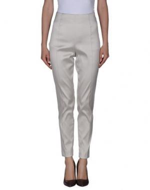 Повседневные брюки GOOD ON HEELS. Цвет: светло-серый