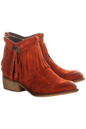 Ботинки MARIA BARCELO. Цвет: red