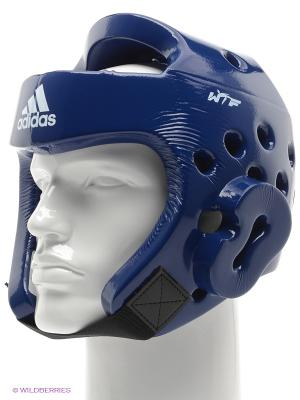 Шлем для тхэквондо Adidas. Цвет: синий