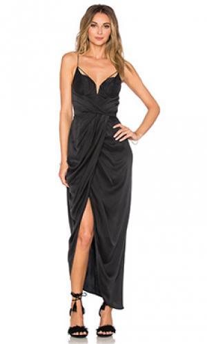 Платье Zimmermann. Цвет: черный