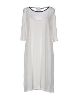 Короткое платье SITA MURT/. Цвет: слоновая кость