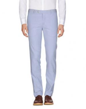 Повседневные брюки REPORTER. Цвет: пастельно-синий