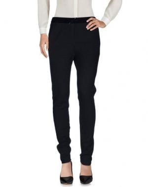 Повседневные брюки MAJE. Цвет: стальной серый