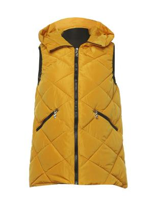 Жилет Classic Fashion. Цвет: светло-оранжевый