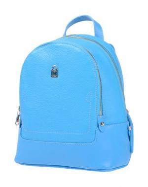 Рюкзаки и сумки на пояс PATRIZIA PEPE. Цвет: лазурный