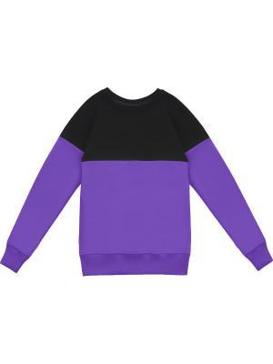 Свитшот Eniland. Цвет: темно-фиолетовый