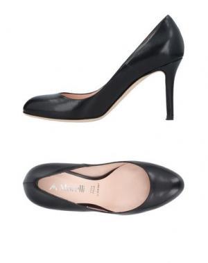 Туфли ANDREA MORELLI. Цвет: черный