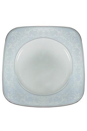 Набор 6 тарелок, 29 см Nikko. Цвет: голубой, золотой