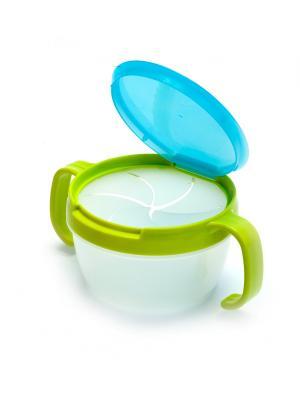 Контейнер для малышей ПОЙМАЙ ПЕЧЕНЬЕ голубой BRADEX. Цвет: голубой