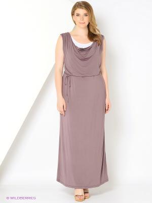 Платье AMAZONE. Цвет: бежевый