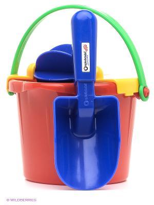 Набор для песка и воды SPIELSTABIL. Цвет: синий