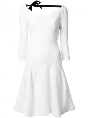 Платье Curtis Roland Mouret. Цвет: белый