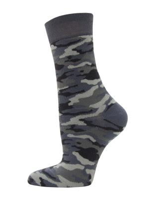 Носки, 2 пары HOSIERY. Цвет: серый