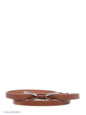 Ремень RUXARA. Цвет: коричневый