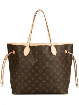 Сумка-тоут Neverfull Louis Vuitton Vintage. Цвет: коричневый