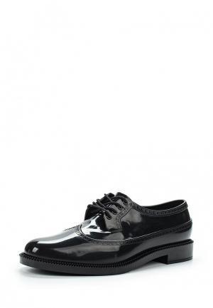 Резиновые ботинки Melissa. Цвет: черный