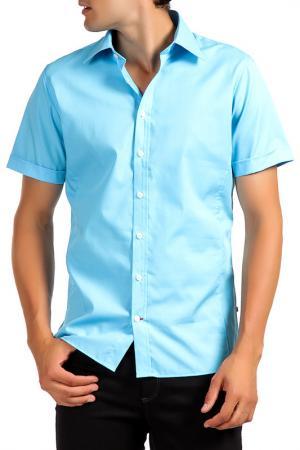 Рубашка Pure. Цвет: синий