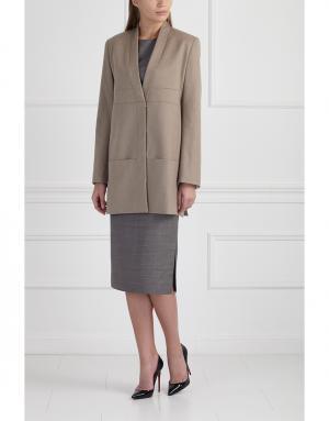 Пиджак MoS. Цвет: коричневый