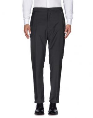 Повседневные брюки DANIELE ALESSANDRINI HOMME. Цвет: свинцово-серый