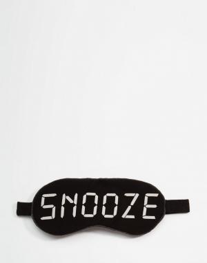 Wildfox Маска для сна Snooze. Цвет: черный