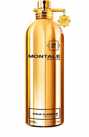 Парфюмерная вода Gold Flowers Montale. Цвет: бесцветный