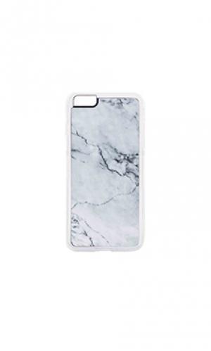 Чехол для iphone 6/6s plus stoned ZERO GRAVITY. Цвет: серый
