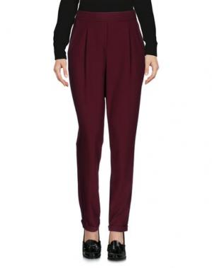 Повседневные брюки DIXIE. Цвет: красно-коричневый
