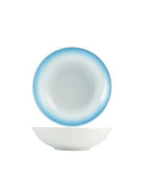 Набор тарелок суповых ЛАЗУРЬ H&H. Цвет: синий