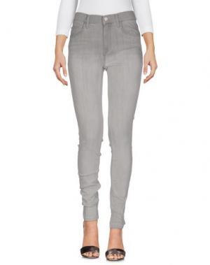Джинсовые брюки FRENCH CONNECTION. Цвет: серый