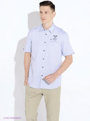 Рубашка LERROS. Цвет: сиреневый