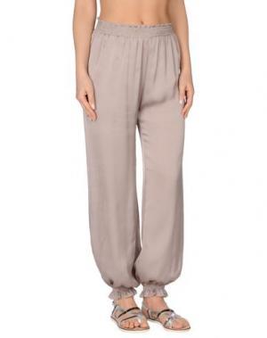 Пляжные брюки и шорты MARZIA GENESI SEA. Цвет: голубиный серый