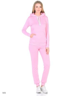 Спортивный костюм L'Amour. Цвет: розовый