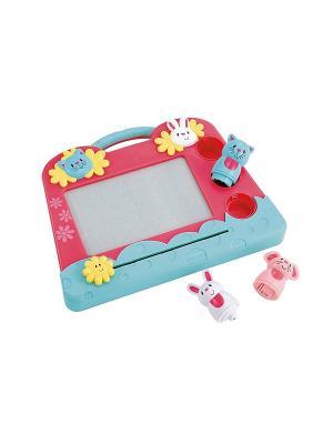 Экран для рисования малышей Зверушки ELC. Цвет: розовый