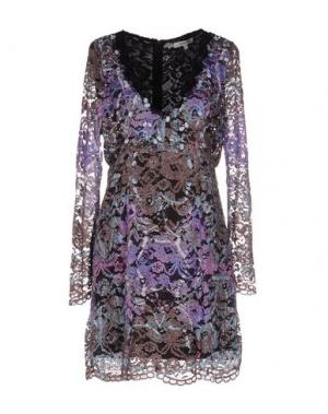Короткое платье KORALLINE. Цвет: фиолетовый