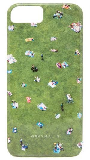 Чехол Central Park для iPhone 7 Gray Malin