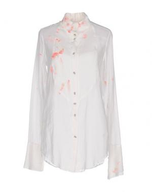 Pубашка IF SIX WAS NINE. Цвет: белый