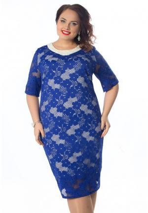 Платье Wisell. Цвет: синий