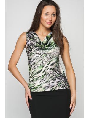 Блузка Formalab. Цвет: зеленый