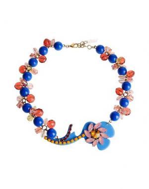 Ожерелье P.A.R.O.S.H.. Цвет: лазурный
