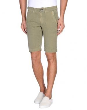 Бермуды MASON'S. Цвет: зеленый-милитари
